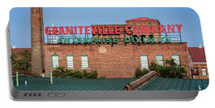 Enterprise Mill - Graniteville Company - Augusta Ga 2 Portable Battery Charger