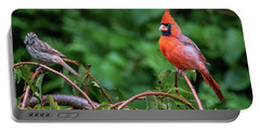Envy - Northern Cardinal Regal Portable Battery Charger