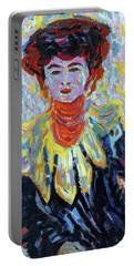 Ernst Ludwig Kirchner -aschaffenburg, 1880-frauenkirch, 1938-. Doris With Ruff Collar -ca. 1906-.... Portable Battery Charger