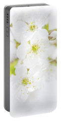 Ethereal Blossoms Portable Battery Charger