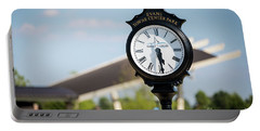 Evans Towne Center Park Clock - Evans Ga Portable Battery Charger