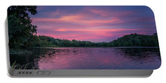 Evening At Springfield Lake Portable Battery Charger