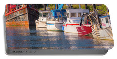 Evening At The Harbor Portable Battery Charger
