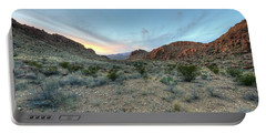 Evening In The Desert Portable Battery Charger