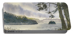 Evening On Derwentwater Portable Battery Charger