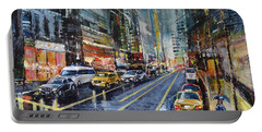 Evening Traffic Portable Battery Charger