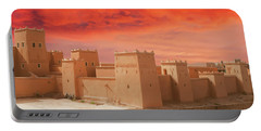 Exterior Buildings Of Kasbah Taourirt Portable Battery Charger