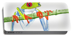 Fabio T Frog Portable Battery Charger