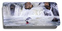 Portable Battery Charger featuring the photograph Face Of Adversity by Travis Rogers
