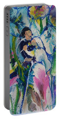 Fairest Among The Lilies Portable Battery Charger