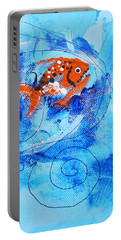Fake Nemo Fish Portable Battery Charger