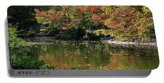Fall At The Japanese Garden Portable Battery Charger