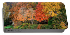 Fall At The Lake Portable Battery Charger