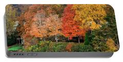 Fall At The Lake Portable Battery Charger
