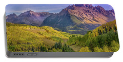 Fall Color In The San Juan Mountains Portable Battery Charger