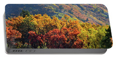 Fall Colors Along Avalanche Creek Road Portable Battery Charger