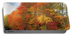 Portable Battery Charger featuring the photograph Fall Colors by Doug Camara