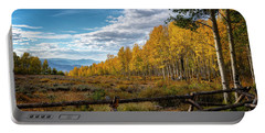 Portable Battery Charger featuring the photograph Fall Colors In Utah by Michael Ash