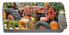 Fall Decor Portable Battery Charger