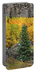 Fall Flakes Portable Battery Charger