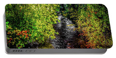 Portable Battery Charger featuring the photograph Fall Foliage by Jon Burch Photography