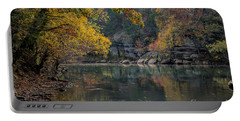 Fall In Arkansas Portable Battery Charger