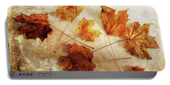 Portable Battery Charger featuring the photograph Fall Keepers by Randi Grace Nilsberg