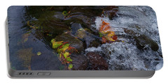 Fall Rushes By Portable Battery Charger