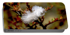 Fallen Feather Portable Battery Charger