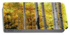 Portable Battery Charger featuring the photograph Fall's Visitation by Rick Furmanek