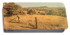 Farm Fields Of Eumundi, Sunshine Coast Portable Battery Charger
