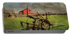 Farming In The 1880s Portable Battery Charger