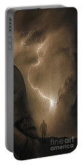 Portable Battery Charger featuring the photograph Fear by Edmund Nagele