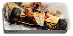 Fernando Alonso, Indy 500 - 04 Portable Battery Charger
