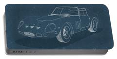 Ferrari 250 Gto - Blueprint Portable Battery Charger