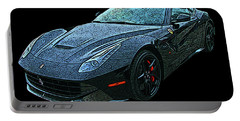 Ferrari F12 In Black Portable Battery Charger