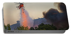 Portable Battery Charger featuring the photograph Fighting Fire With Fire by Lynn Bauer