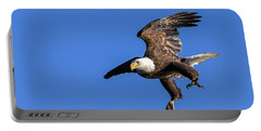 Portable Battery Charger featuring the photograph Final Approach by Lori Coleman