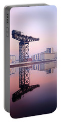 Finnieston Crane Reflection Portable Battery Charger