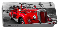 Fire Engine Portable Battery Charger