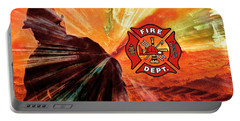 Fire Fighting 1 Portable Battery Charger