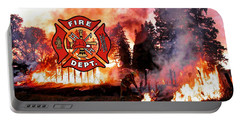 Fire Fighting 3 Portable Battery Charger