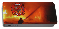 Fire Fighting 5 Portable Battery Charger