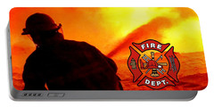 Fire Fighting 6 Portable Battery Charger