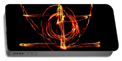 Fire Light Drawing Portable Battery Charger
