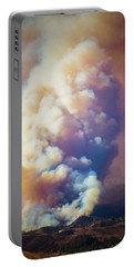 Portable Battery Charger featuring the photograph Fire Power by Lynn Bauer