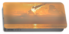 Portable Battery Charger featuring the photograph Fireball   by Barbara Ann Bell