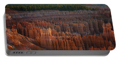 First Light On The Hoodoo Inspiration Point Bryce Canyon National Park Portable Battery Charger