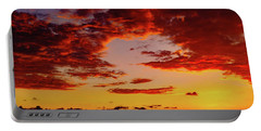 First November Sunset Portable Battery Charger