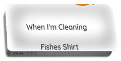Fish T Shirt Portable Battery Charger